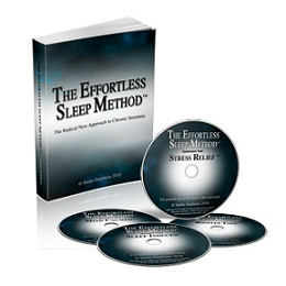 Effortless Sleep: EBook and 4CD/MP3 set | Natural Chronic Insomnia Treatment